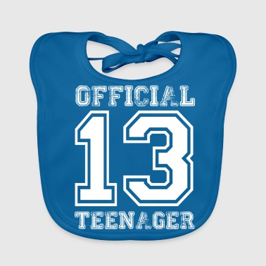 Official teenager 13th birthday gift - Baby Organic Bib