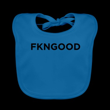 FNGOOD Novelty Sarcastic Graphic Cool Mens Funny - Baby Organic Bib