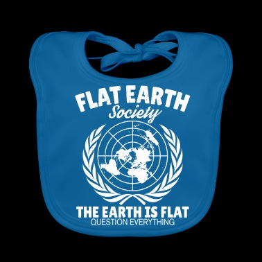 Flat Earth Astrology Flat Earth Earth Gift - Baby Organic Bib