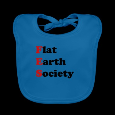 Flat Earth Society - Baby Organic Bib