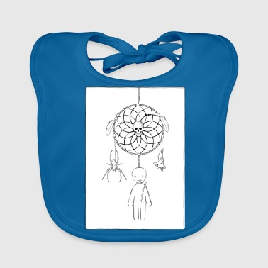 Scary dreamcatcher - Baby Organic Bib