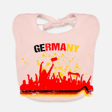 Soccer Fan Germany Fan Fan Shirt Soccer - Baby Organic Bib