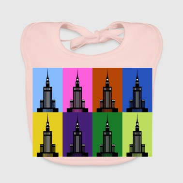 Palace of Culture and Science in Warsaw - Baby Organic Bib