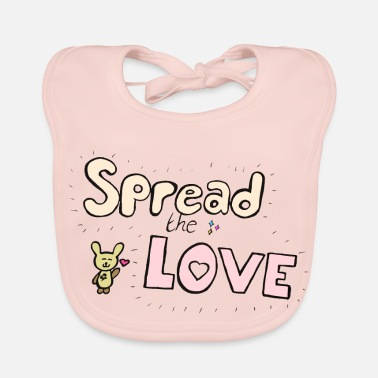 Spread the Love - Baby Bib