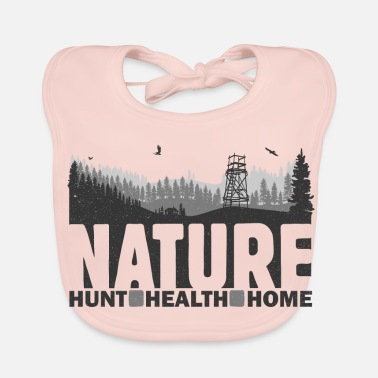 Health Nature Hunt Health Home - Ekologisk babyhaklapp