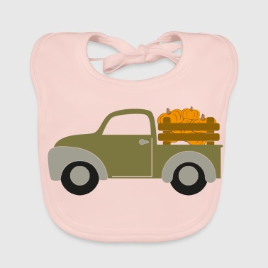 Delivery delivery trucks - Baby Organic Bib