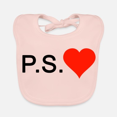 PS Love love heart - Bavaglino