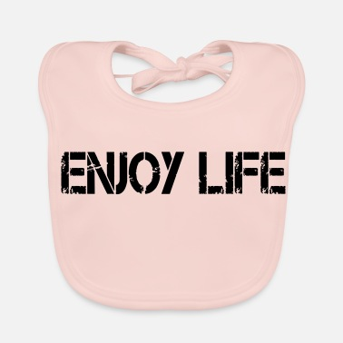 Sayings saying - Baby Organic Bib