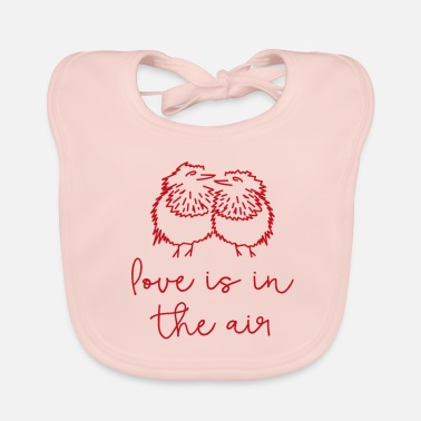 Love Is In The Air - Baby Bib