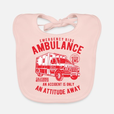Shop Ambulance Driver Baby Bibs online | Spreadshirt