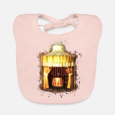 Gypsy Gypsy fortune teller brightly glowing - Baby Organic Bib