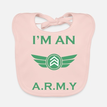 Army ARMY - Bio-slabbetje voor baby's