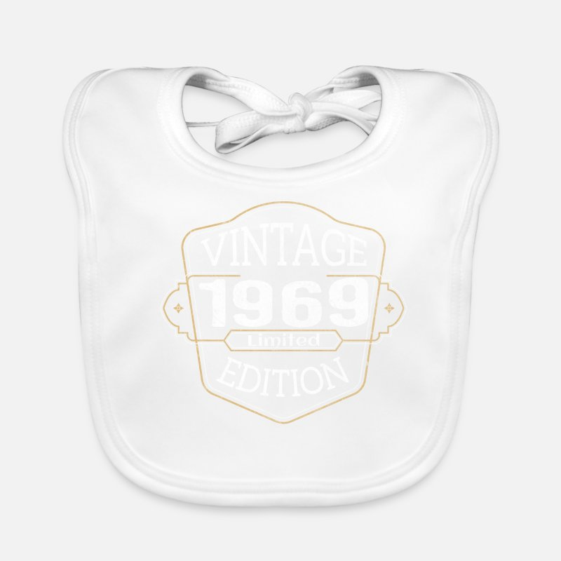 Birthday Gift 1969 Husband Dad 50 Gift Idea Baby Bib
