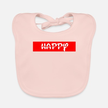 Happiness Happy / happy - Baby Bib