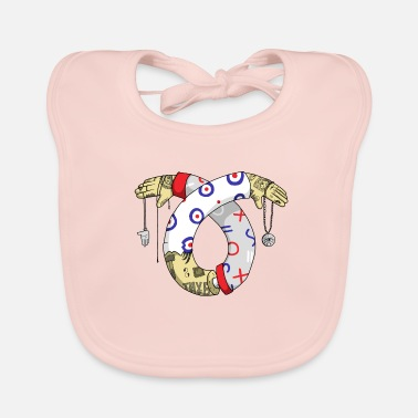 Tatoo Illustration Tatoo - Baby Organic Bib
