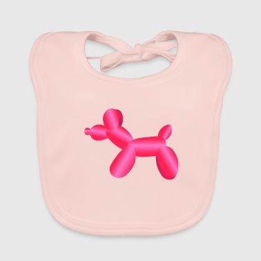 balloon animals - Baby Organic Bib