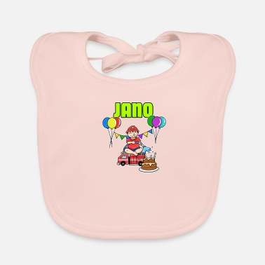 Fire Fire Department Jano Gift - Baby Bib