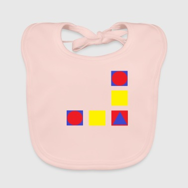 to form - Baby Organic Bib
