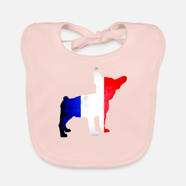 French Bulldog The French Bulldog or The French Bulldog - Baby Organic Bib
