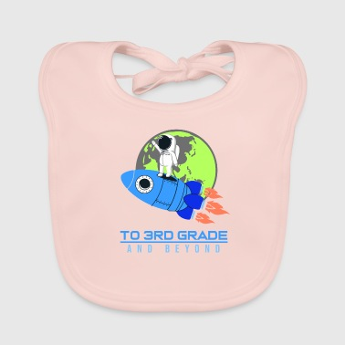 THIRD CLASS SHIRT FUNNY SHIRT KIDS GIFT - Baby Organic Bib