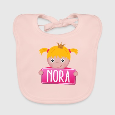 Little Princess Nora - Baby Organic Bib