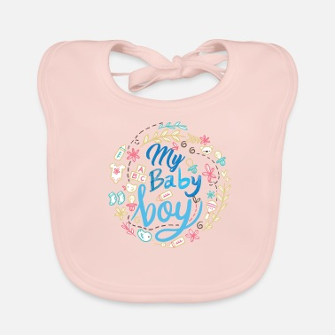 Birth pregnant baby child born birth gift idea - Baby Bib