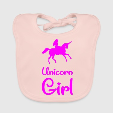 Grand Parents Unicorn Girl - Unicorn - Girl - Riding - Bio-slabbetje voor baby's