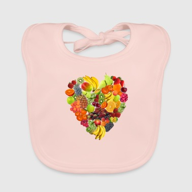 Isles of fruit lovers by Isles of Shirts - Baby Organic Bib