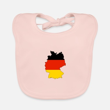 Black-red-gold Germany in black red gold - Baby Organic Bib