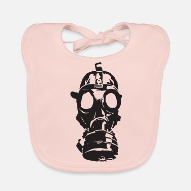gas mask - Baby Bib