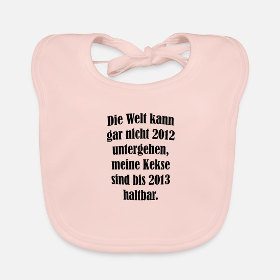 Cool Sayings Baby Clothes - cool sayings - Baby Bib rose