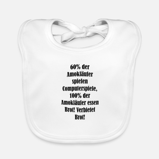 Cool Sayings Baby Clothes - cool sayings - Baby Bib white