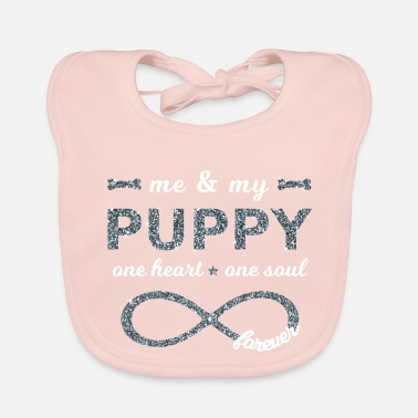 Dog Fashion Me & my Puppy Puppies Dogs Infinity dog s 8 - Baby Bib