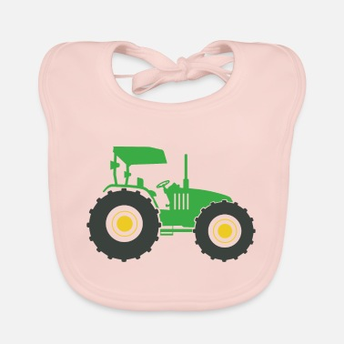Fan Section Tractor fan - Baby Bib