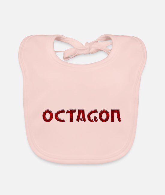 Mma Baby Bibs - Octagon asia style - Baby Bib rose