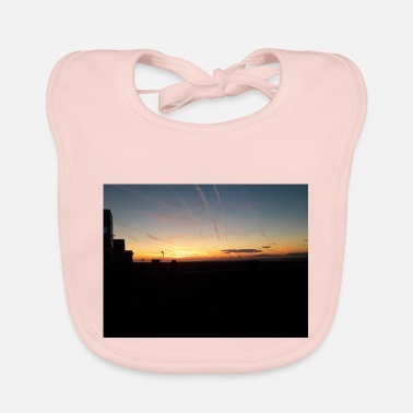 Airfield Sunrise at the airfield - Baby Bib