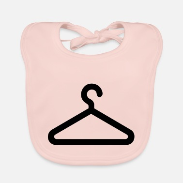 Clothing clothes hanger,clothing - Baby Bib