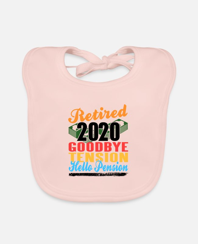 Occupation Baby Bibs - pension - Baby Bib rose