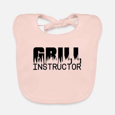 Glut Grill instructor, drill grill master saying - Baby Bib