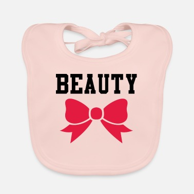 Beautiful Beauty and beauty - Baby Bib