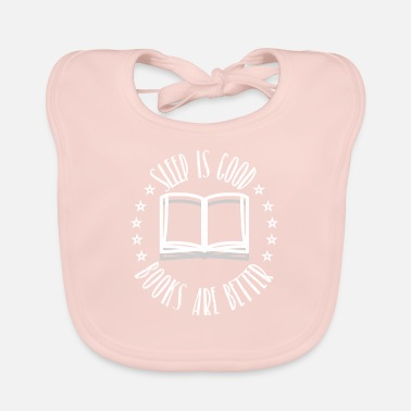 Book Children Books shirt children - Baby Bib