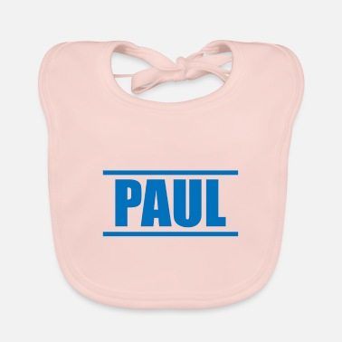 Presenteren Presenteer je voornaam - Paul! - Slabbetje