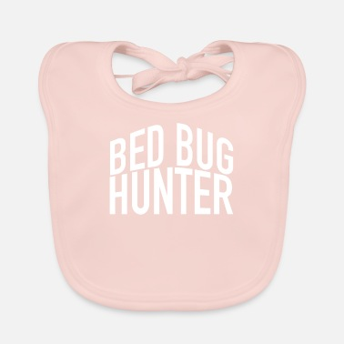 Travel Bug Bed bug hunter - Baby Bib