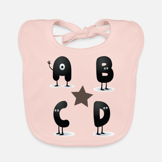 Gift Idea Baby Clothes - abcd - Baby Bib rose