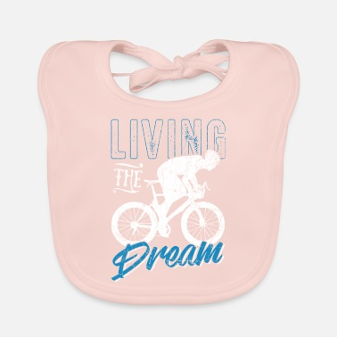 Cycles Cycling cycling - Baby Bib