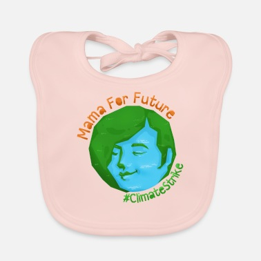 Global Climate change environmental protection Mother's Day gift - Baby Bib