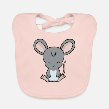 Baby Mouse Little baby mouse - Baby Bib
