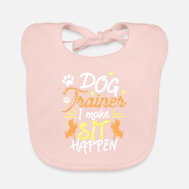 Dog Trainer Dog House Dog Hound Gift - Baby Bib