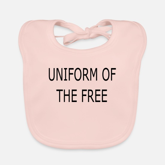 Love Baby Clothes - Bestseller Uniform of the Free - Baby Bib rose