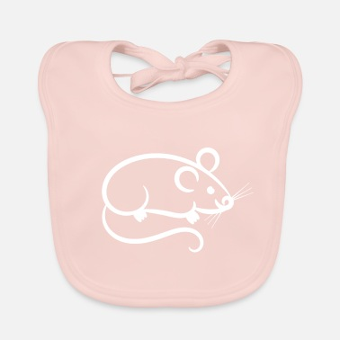 Mouse Mouse - mouse - Baby Bib